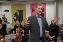 Foto Emiel van Lint . www.emiel-fotograaf.nl  Lancering hallo muziek.